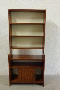 KLM systeem Rosewood boekenkast (1) van Poul Cadovius jaren \'50 \'60 ...