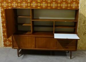 Jaren 50 60 Wandkastbuffetkast Leukvoorthuis Retro Vintage
