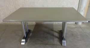Gispen vergadertafel eettafel model 7207 u201ctenen tafelu201d van ch