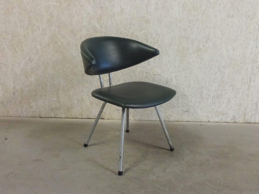 Vintage Bureaustoel De Wit.6 Gebr De Wit Eetkamerstoelen Model 7211 Mickey Leukvoorthuis